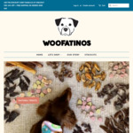 15% off your First/Next Order of Natural Pet Treats + Free Delivery with $60 Spend @ Woofatinos