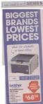 Brother HL3040CN Colour LED Network Printer $68.74 @ Officeworks