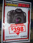 Canon EOS 1100DKB DSLR Camera Single Lens Kit $398 at HN (Nationwide This Time)