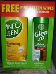 Glen 20 Spray 300g + Pine O Clean Wipes 40s $4 @ Coles