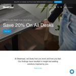 20% off all Desks @ Steelcase
