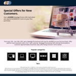 Get A$55 Newegg Promo Gift Card with A$550 Minimum Spend after First Purchase by New Customer @ Newegg AU