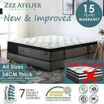 Zzz Atelier Queen Mattress $271.15 Delivered ($264.77 eBay Plus) @ Zzz Atelier eBay