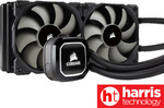 [Afterpay] Corsair Hydro H100x 240mm AIO Cooler $85 Delivered @ Harris Technology eBay