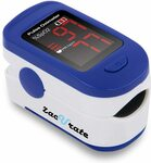 Zacurate 500BL Fingertip Pulse Oximeter Blood Oxygen $20.39 + Delivery ($0 with Prime/ $39 Spend) @ Beyond Med Shop Amazon AU