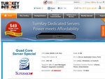 Dedicated Server - $49/ Month Quad Core 2.83 Ghz - RAM: 8 GB - 250GB HDD Normally $99