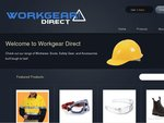 10% OFF All Orders @ Workgear Direct until Tomorrow (Thursday 16th of May)