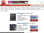 Massive NAS Sale - HP Microserver N40L-$239+Shipping (~$10), QNAP TS-412-$339 & MORE