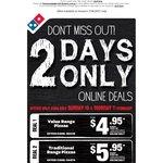 Domino's Pizza Vouchers Sun 10th & Mon 11th