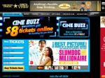 $9 movie tickets at Greater Union for Cinebuzz members