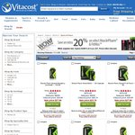 Vitacost 20% Off Muscle Pharm Supplements