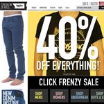 CLICK FRENZY Starts Now at Mossimo! 40% off Storewide!