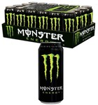 MONSTER ENERGY DRINK Original Flavour, 24 X 500ml Cans (Carton/Case) $39.99 w/ Free Shipping