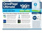 Nuance (Scansoft) Omnipage Ultimate Software Plus Bonus PaperPort 14 and PDF Create 8 - Just $99