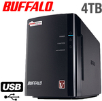 Buffalo Cloudstation Pro Duo 4TB NAS $210.90 Delivered