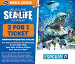 Melbourne Aquarium 2 for 1 Entry