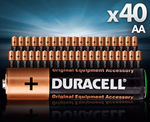 Duracell AA and AAA 40 Pack - $16.70 Delivered from CatchOfTheDay eBay Store