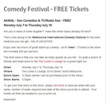 Free Entry to Melbourne Comedy Festival - AKMAL from July 7 to July 10