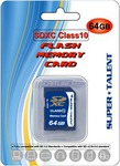 Super Talent 64GB SDXC UHS-1 Class 10 Flash Memory Card $50.39 Shipped @ Meritline.com