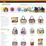 15% off Selected Bags + Free Shipping @ ArtsCow