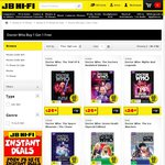 Classic Dr Who DVDs (Stickered Stock) - Buy 1, Get 1 Free @ JB Hi-Fi