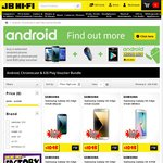Free Chromecast + $20 Google Play Voucher When Buying Selected Android Phone @ JB Hi-Fi