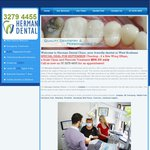 Dental Checkup, 2x Bite Wing X-Rays, Scale Clean and Fluoride Treatment for $90 @ Herman Dental (Jindalee QLD)
