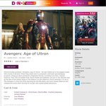Avengers: Age of Ultron $5.89 to Own in SD from Dendy Direct