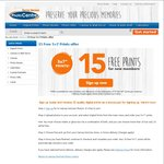 """15 Free 5"""" X 7"""" Photo Prints (New Members) and $0.09 for 6"""" X 4"""" (No Limits) @ Harvey Norman"""