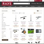 Upto 50% off Fishing Gear at Rays Outdoors for Rays Members