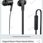 Xiaomi Piston III Dazzle Edition Earphone AUD $5.97 Delivered @ TinyDeal App