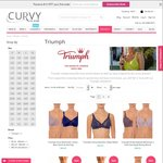 30% off Triumph Bras Including Embroidered Minimizer, Lace Maternity and Sports Bras @ Curvy