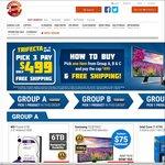 "Trifecta Deal @ Shopping Express - 3 Items for $499 Shipped EG Samsung 31.5""/128GB USB3/32GB SD"