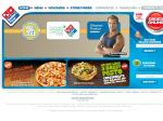 2 for 1 Pizzas Delivered @ Domino's