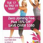 Fernwood Fitness Cannington - Zero Joining Fee Plus 15% Off Tue 17 to Thu 19 May [WA]