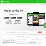 20% off @ Menulog (Delivery & App Only)