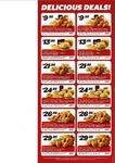 KFC Vouchers (WA & NT)