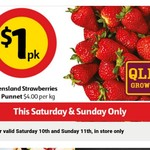 [QLD] Australian Strawberries 250gm $1 @ Coles 10th & 11th Sept (in store only)