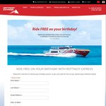 FREE Ferry Ride on Your Birthday (Save $61) (Just Pay Island Admission Fee $18) @ Rottnest Express WA