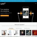Audible 2 for 1 Sale on Series