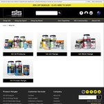 40% off Entire SiS Range (Excluding Bundles) @ scienceinsport.com