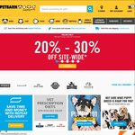 Petbarn 20-30% off Sitewide + Extra 30% off with Code (Online Only)