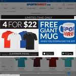 4 for $10 UK Pound Sterling Slazenger POLO + Shipping ~ $25 AUD Shipped @ SportsDirect