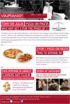 Brisbane CBD - Vapiano Restaurant 2 for 1 PIZZA or PASTA up to $20 in value