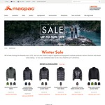 Up to 50% off Macpac + Extra 10% off with Code (Pack-It- Rain Jacket $60.74, Pack-It Jacket $45) +