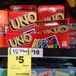 UNO Playing Card Game $5, Colgate Sensitive Pro-Relief Toothbrush $7 @ Woolworths