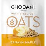 Free Chobani Yoghurt with Steel Cut Oats in Martin Place Pitt St Sydney