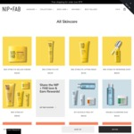 Free Nip + Man Product When Spending $99 or More on Nip + Fab Skincare