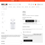 Apple AirPods for $209 @ Myer