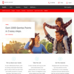 1000 Qantas Frequent Flyer Points for Survey and Taking Phone Call from Qantas Assure Health Insurance